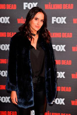 Lucy Watson attending Fox's A Night with the Walking Dead at the Hamyard Hotel, Soho, London.