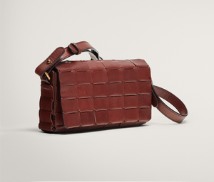 Leather bag, €99.95 from Massimo Dutti