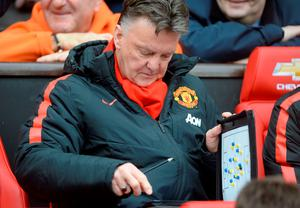 'In recent weeks, Van Gaal has tried what I would describe as a more Barcelona-style approach to games'