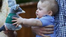 10. And melted all our hearts with his new stuffed toy Bilby.