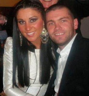 Liam Byrne's fiancee Simoan McEnroe had a 1.5 carat platinum ring and a 3.6 carat diamond ring seized. €26,000 in cash was also discovered during several raids. Picture: Sunday World
