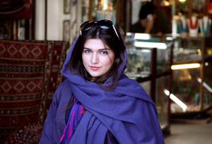 Ghoncheh Ghavami, the young Iranian women rights activist jailed for attempting to enter a men-only stadium to watch a volleyball match - has been transferred to a high-security prison in Tehran that holds criminals. Photo credit: AP Photo/Free Ghoncheh Campaign