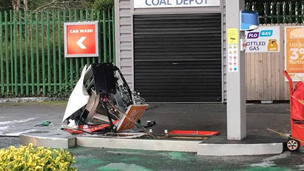 The petrol station on Fortfield Road in Terenure