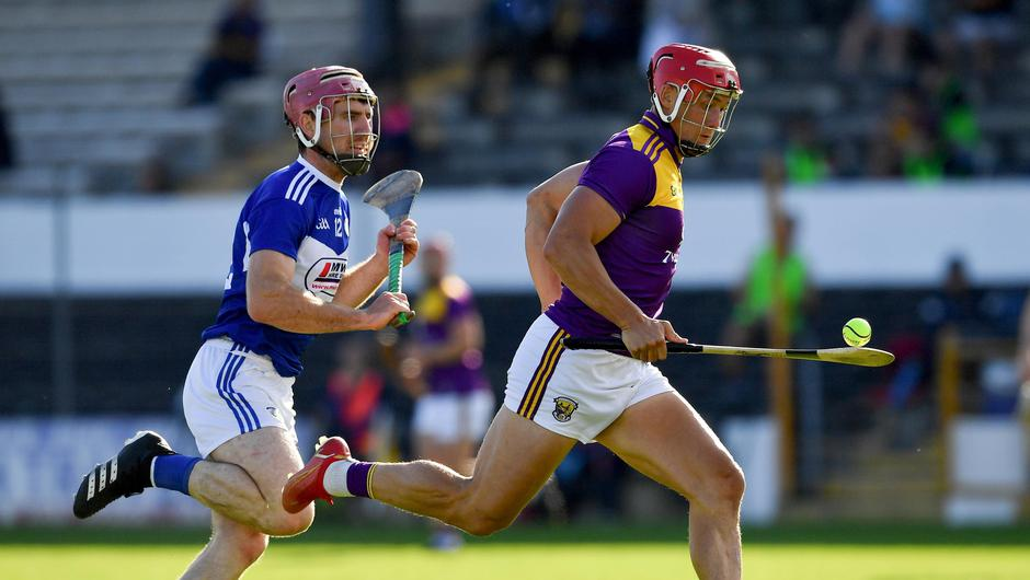 Lee Chin scored a goal in Wexford's win over Laois. Photo by Ray McManus/Sportsfile