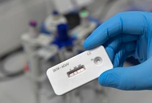 Herd immunity a dead end? The World Health Organisation has said that said antibody test strips can not be relied upon. Photo: AP Photo/Jens Meyer