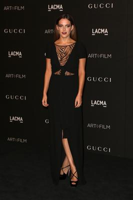 Actress Riley Keough attends the 2014 LACMA Art + Film Gala honoring Barbara Kruger and Quentin Tarantino presented by Gucci at LACMA