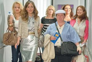 Kristen Wiig and Melissa McCarthy put in hilarious performances in 2011's Bridesmaids