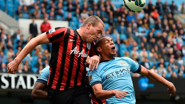 Richard Dunne played in the Premier League for Everton, Manchester City, Aston Villa and QPR