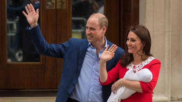 The HIGNFY panel suggested Kanye for the royal baby (Dominic Lipinski/PA)