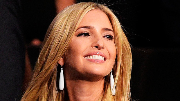 Inappropriate: Ivanka Trump wore her jewellery in a TV interview then pushed sales of it Photo: Jeff Swensen/Getty Images