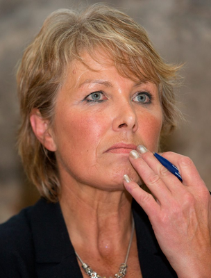 Digital abuse: Women and young girls are disproportionately affected by 'revenge porn' and 'doxing' and it's time Ireland - which has reported one of the biggest increases in cyberbullying worldwide - followed Scotland, which introduced a dedicated law to combat stalking after the case of Ann Moulds (pictured) who was terrorised for three years
