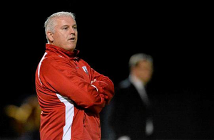 Longford Town manager Tony Cousins was critical of the pitch at Jackman Park after his team fought back to earn a draw after twice falling behind
