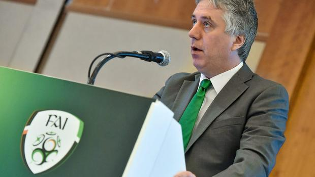 FAI Chief Executive John Delaney. Picture credit: David Maher / SPORTSFILE