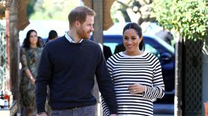 Britain's Prince Harry and Meghan, Duchess of Sussex arrive for a visit at a cooking demonstration, where children from under-privileged backgrounds learn traditional Moroccan recipes, at the Villa des Ambassadors in Rabat, Morocco, February 25, 2019. Tim P. Whitby/Pool via REUTERS