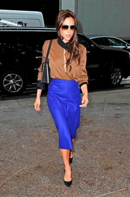 Queen Vic: fashionista Victoria Beckham in New York