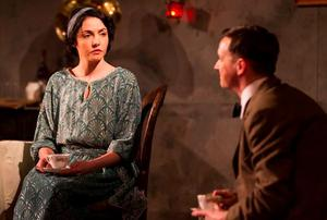 Caoimhe O'Malley adn Emmet Kirwan in Juno and the Paycock at the Gate Theatre. PIC: Pat Redmond