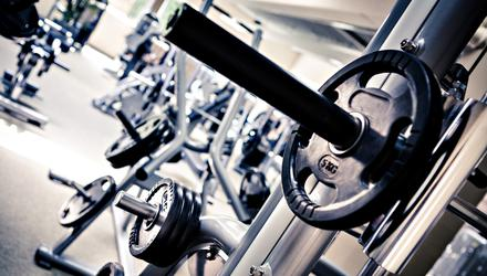 'From January 2, credit cards are flung across the counters of gyms around the country, in an effort to get rid of mince-pie stomachs and selection-box thighs' (stock photo)