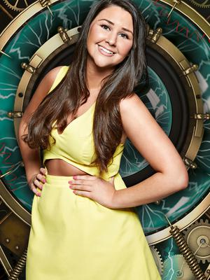 Undated Channel 5 handout photo of Chloe Wilburn, 25, from Doncaster who is one of the housemates in Big Brother:Timebomb starting on  Tuesday 12th May. PRESS ASSOCIATION Photo. Issue date: Sunday May 10, 2015.  See PA story  SHOWBIZ  Brother. Photo credit should read:Channel 5/PA Wire  NOTE TO EDITORS: This handout photo may only be used in for editorial reporting purposes for the contemporaneous illustration of events, things or the people in the image or facts mentioned in the caption. Reuse of the picture may require further permission from the copyright holder.