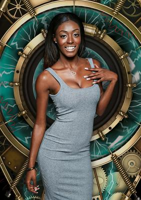 Undated Channel 5 handout photo of Adjoa Mensah, 22, from Manchester who is one of the housemates in Big Brother:Timebomb starting on  Tuesday 12th May. PRESS ASSOCIATION Photo. Issue date: Sunday May 10, 2015.  See PA story  SHOWBIZ  Brother. Photo credit should read:Channel 5/PA Wire  NOTE TO EDITORS: This handout photo may only be used in for editorial reporting purposes for the contemporaneous illustration of events, things or the people in the image or facts mentioned in the caption. Reuse of the picture may require further permission from the copyright holder.