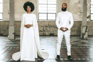Solange Knowles wedding picture, from Vogue Magazine. Must Credit: Photographed by Rog Walker.
