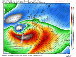 Fears this warm seclusion cyclone may be worst of winter tomorrow