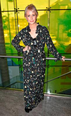 Aisling O'Loughlin at the Mothercare Autumn Winter 2016 launch at The Science Gallery
