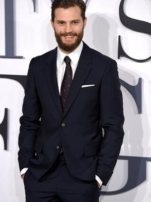 """Jamie Dornan attends the UK Premiere of """"Fifty Shades Of Grey"""""""