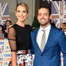 (L to R) Vogue Williams and Spencer Matthews, Laura Whitmore, Frank and Christine Lampard