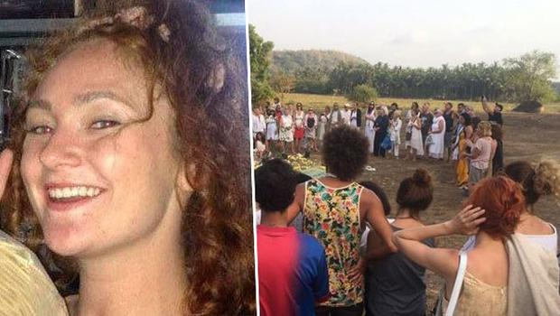 Left: Danielle McLaughlin was murdered at Indian tourist destination. Right: Vigil held in memory of victim