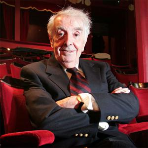 Legendary irish Actor Milo O'Shea at the Gaiety Theatre in 2007. Photo: Collins