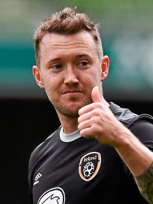 Ireland's Aiden McGeady could just as easily have played for Scotland