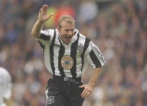 Newcastle United have dumped pictures of club legends such as Alan Shearer in a skip outside St James' Park