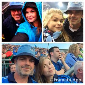 Would love so much the tickets to bring my bestest pal my dad to the all Ireland final Credit: Claire Gibz via Twitter