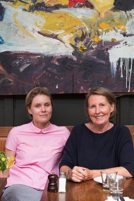 Rebecca Harte and her mother Kate