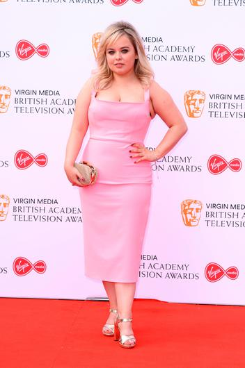 Nicola Coughlan attends the Virgin Media British Academy Television Awards 2019 at The Royal Festival Hall on May 12, 2019 in London, England. (Photo by Jeff Spicer/Getty Images)