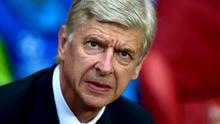 The only movement at Arsenal at the moment is Arsene Wenger going to Rome to referee a charity match tonight