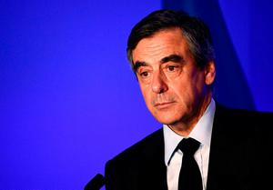 Mr Fillon, once the election's front-runner, has called the investigation a smear campaign to torpedo his candidacy. Photo: GETTY