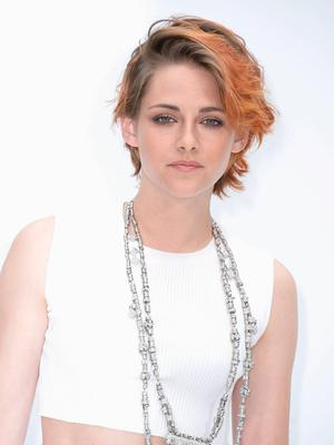 Kristen Stewart attends the Chanel show as part of Paris Fashion Week - Haute Couture Fall/Winter 2014-2015 at Grand Palais.  Getty Images