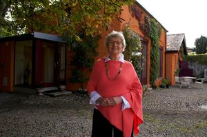 Ethna Dorman  was thrilled her house was crowned Home of the Year Photo: RTÉ