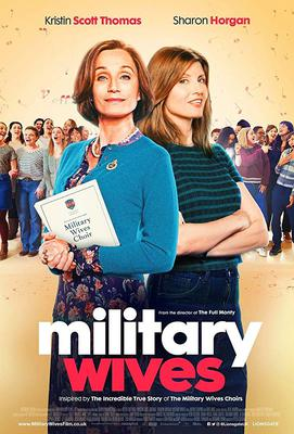 On song ... Sharon Horgan stars in the musical drama Military Wives with  Kristin Scott Thomas