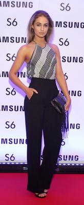 Thalia Heffernan at the exclusive launch party  for the Samsung Galaxy S6 at The Marker Hotel, Grand Canal Square , Dublin Pic:Brian McEvoy