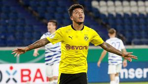 Luxury buy: Jadon Sancho would make United stronger, but the main concern should be shoring up defensively. Photo: Martin Meissner/AP