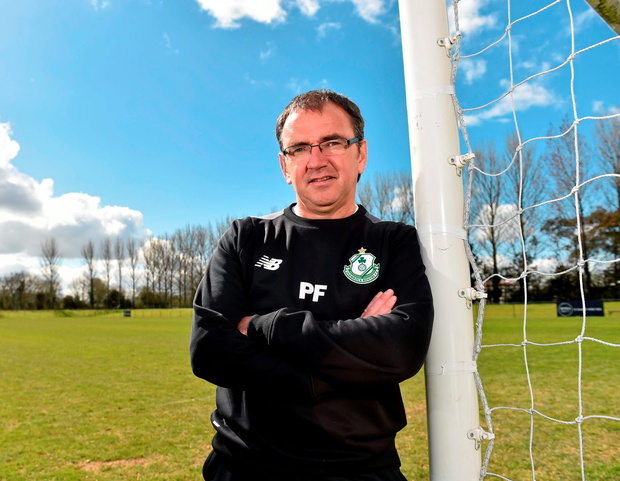 'Fenlon (pictured) was infuriated by his team's first-half efforts at the Brandywell and chose to go public with the extent of his frustration'