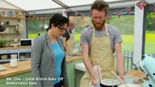Iain Watters claims his pudding has been sabotaged on 'The Great British Bake Off'