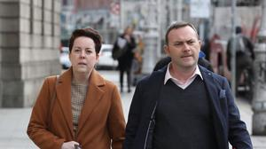 12/3/2019 Ruth and Paul Morrissey, pictured at the Four Courts for a High Court action.Pic: Collins Courts