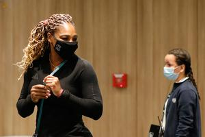 NAGGING INJURY: Serena Williams has pulled out of the French Open