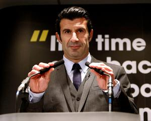 Luis Figo is a credible candidate and offered clear policies in his manifesto as well as the usual goals of greater transparency and restoring FIFA's credibility