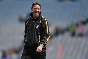 Kilkenny manager Pat Hoban has no issue with his side going into mthe All-Ireland minor hurling final as underdogs. Photo: Pat Murphy / SPORTSFILE