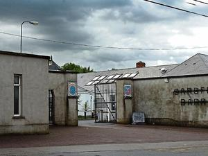 Changing times: Sarsfield Barracks in Co Limerick has been converted into a mortuary