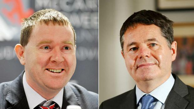 Analysis: Seamus Coffey was head of the Fiscal Council  when it disagreed with Paschal Donohoe's department